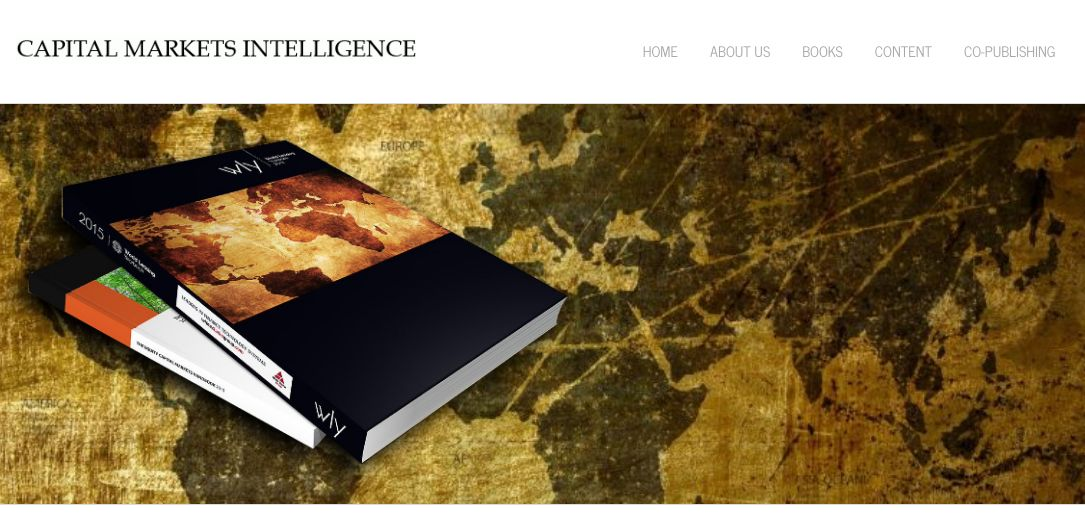 Capital Markets Intelligence launch