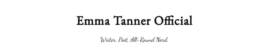 Just launched Emma Tanner Official website