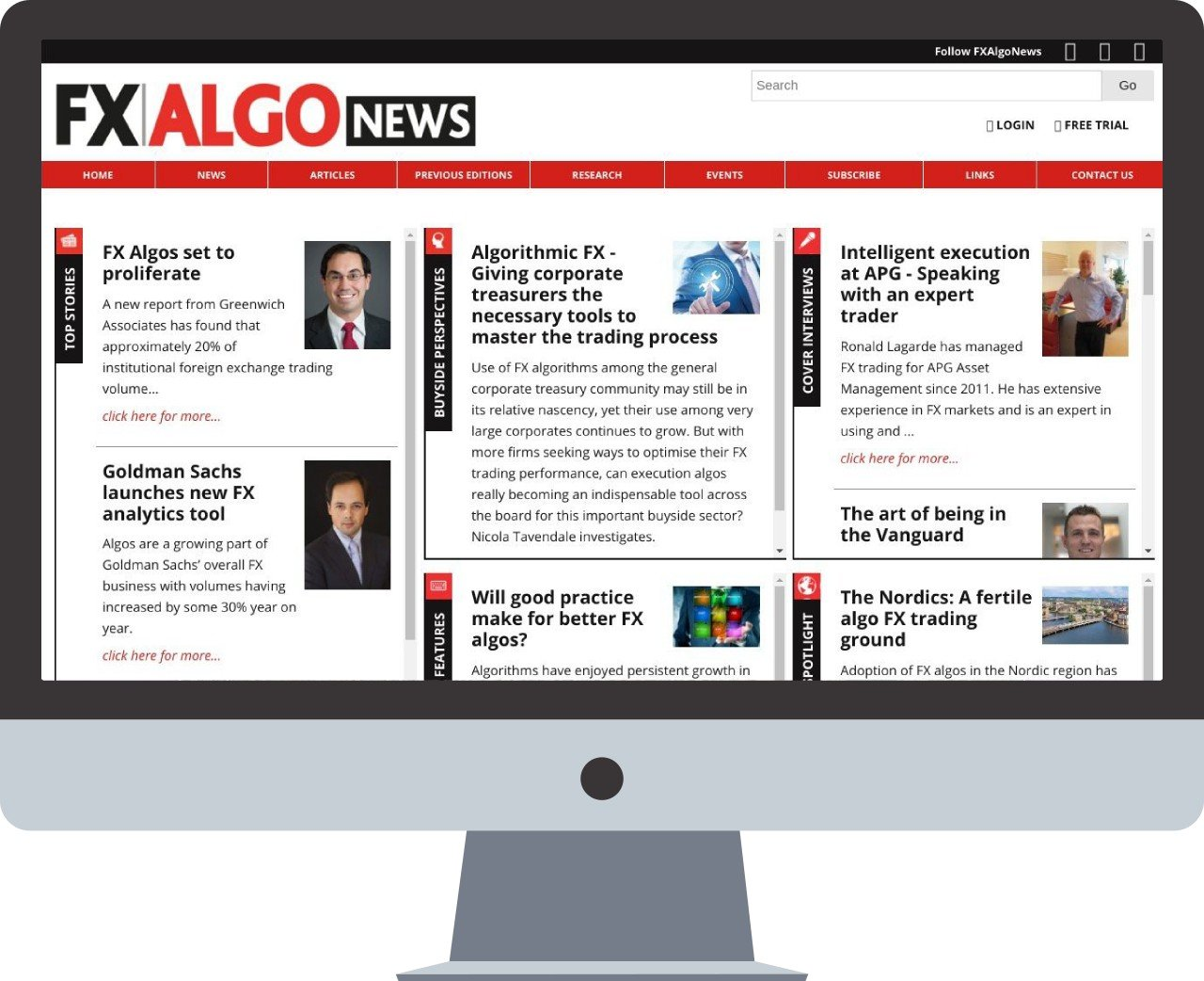FX Algo News Magazine