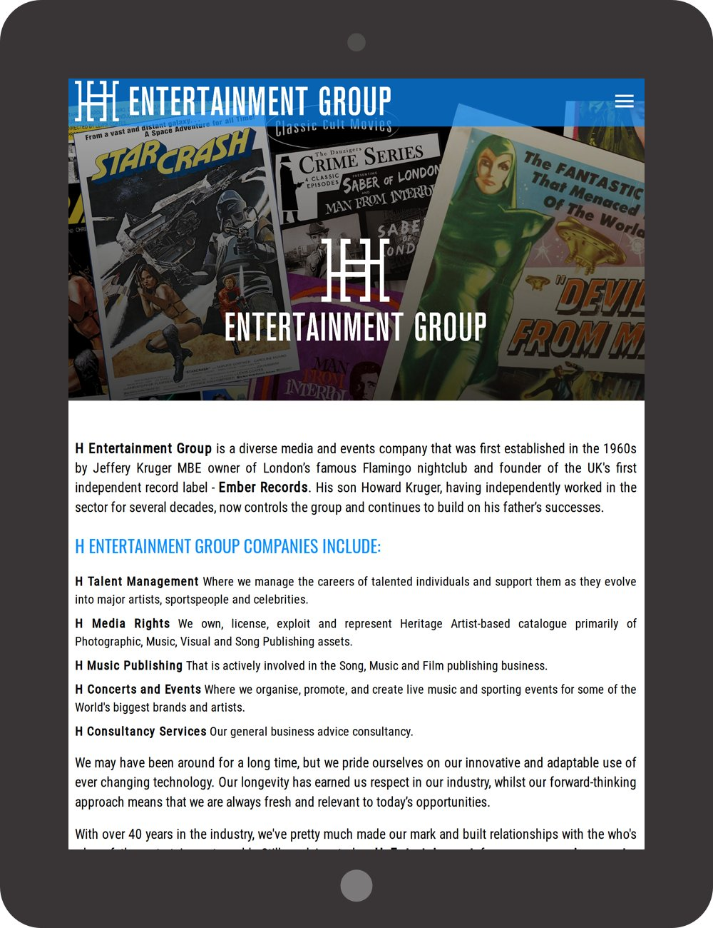 H Entertainment Group Limited