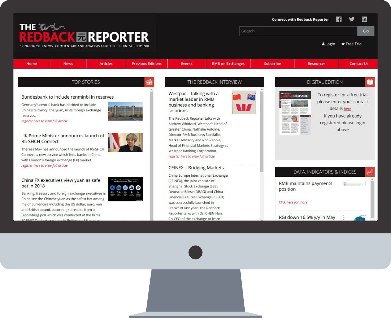 Redback Reporter Magazine
